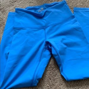 Pretty blue workout legging